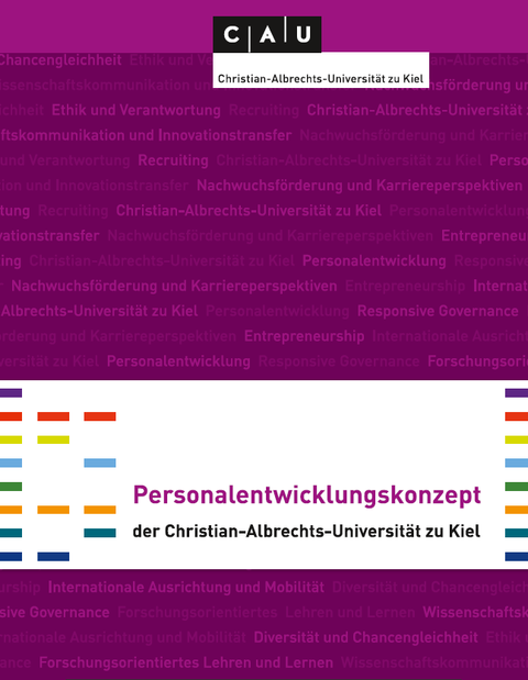 Titelblatt des Personalentwicklungskonzeptes der CAU